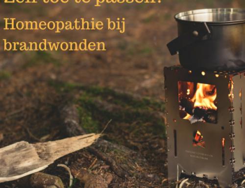 Homeopathie zelf toepassen; wat te doen bij brandwonden…